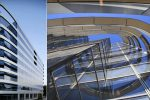immeuble de bureaux conçu selon l'architecture vastu