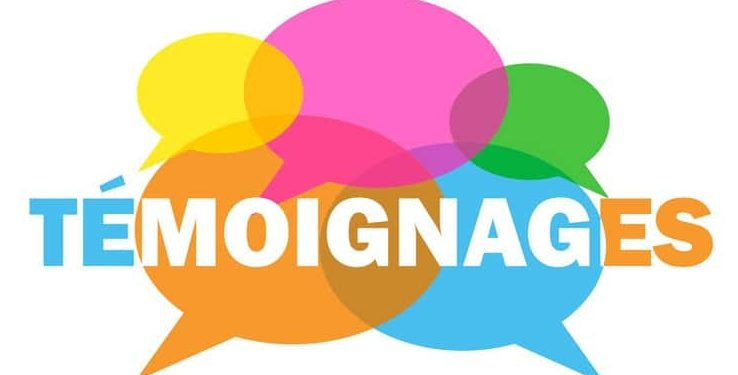 témoignages logo