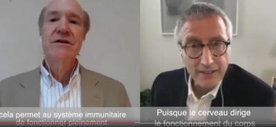 Dr Fred Travis et Mario Orsatti